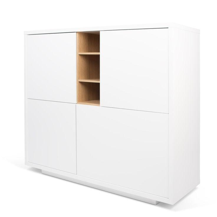 Požiadavkou na moderný dizajn nie je len použitie čistých línií a minimálnej farebnosti. Medzi hlavné vlastnosti by mala tiež patriť vysoká funkčnosť, trvanlivosť a nadčasovosť, ktorá nepodlieha času ani zmene trendov. A presne taký je nábytok TemaHome. Komoda Niche je ideálnym dominantným doplnkom do obývacej izby (ako odkladací priestor, ale aj ako televízny stolík), rovnako tak aj do spálne na oblečenie alebo jedálne ako príborník. Dvierka komody sa otvárajú na stisk ruky a vďaka…