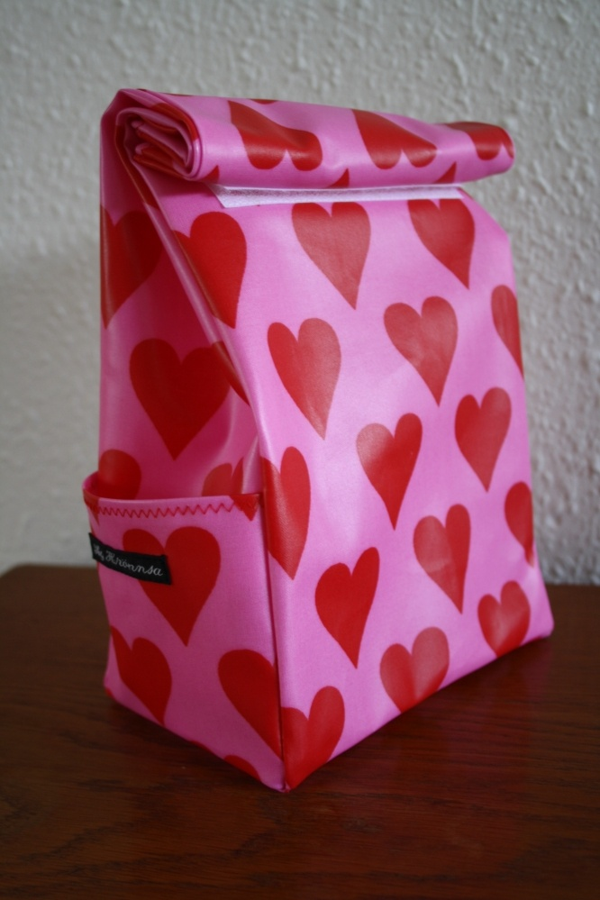 lunchbag in oilcloth