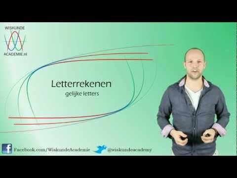 Letterrekenen | Wiskunde Academie
