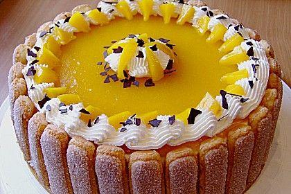 Pfirsich - Joghurt - Torte (Rezept mit Bild)