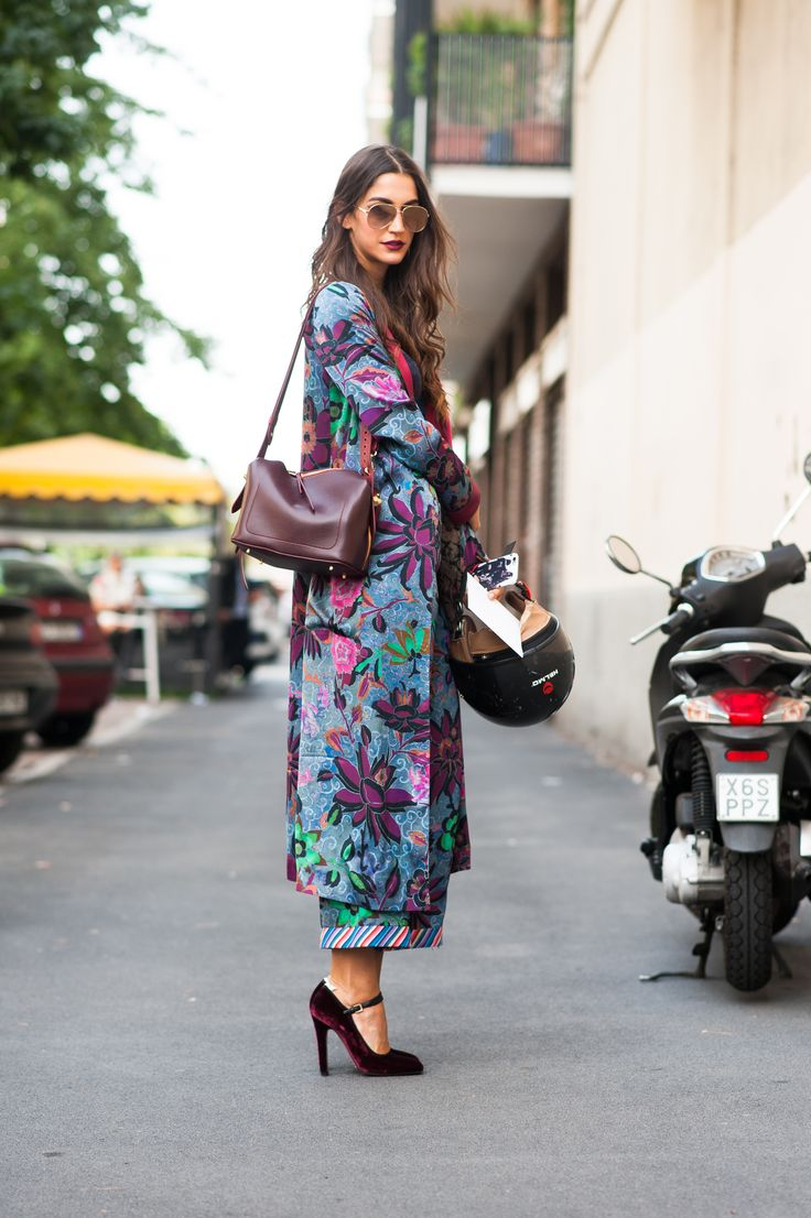 SS17 Milan Fashion Week streetstyle