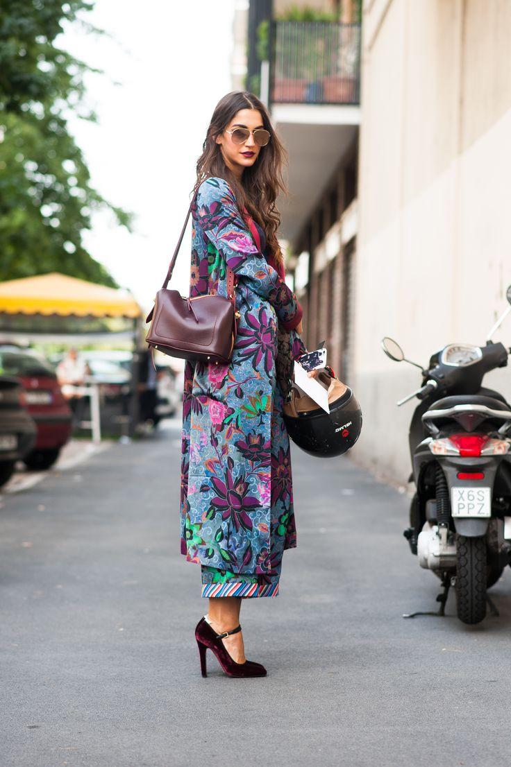 SS17 Milan Fashion Week streetstyle