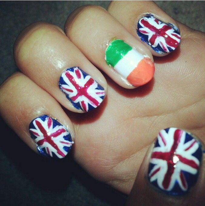One direction nail art beauty pinterest