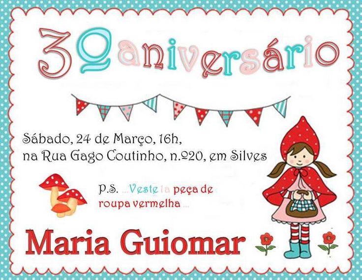3º aniversário da MG - Festa do Capuchinho Vermelho (2012)