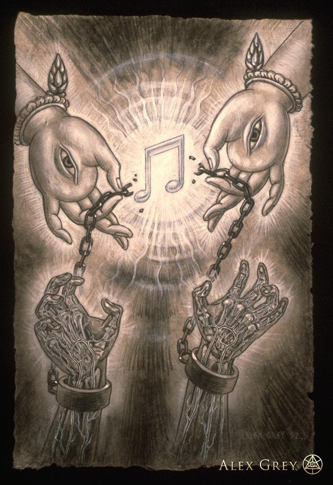Music of Liberation - Alex Grey