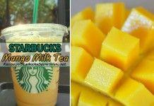 Mango Milk Tea | Starbucks Secret Menu