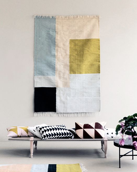 A rug or textile can make great art
