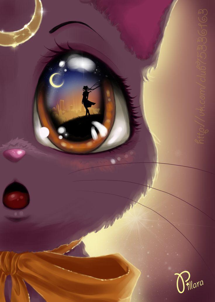 """""""Luna"""", la gata de Sailor Moon :)"""