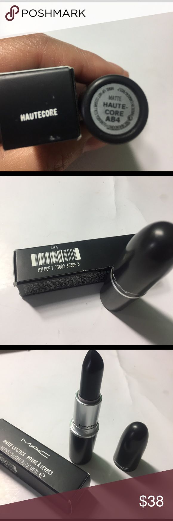 Mac LE Hautecore New in box, never used authentic hautecore lipstick from Mac. Price firm. Check my other listings will give discount if bought in multiples. MAC Cosmetics Makeup Lipstick