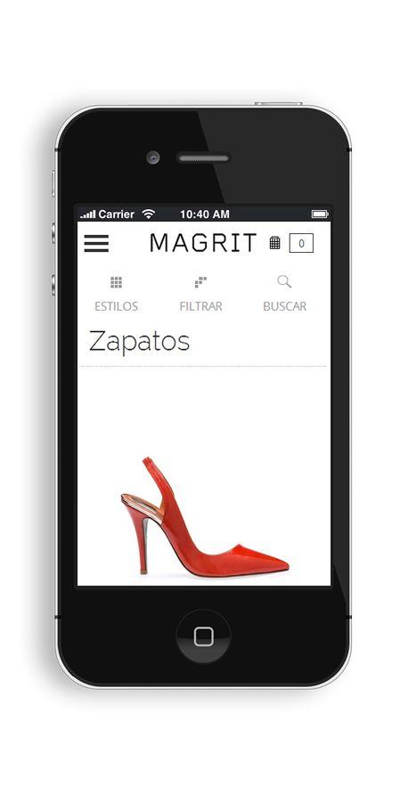 MAGRIT siempre al alcance de tu mano, disfruta de la colección de MAGRIT desde tu móvil, donde quieras y cuando quieras. www.magrit.es ------------------------------------------------ MAGRIT always at your fingertips, enjoy MAGRIT collection from your phone, wherever you want and whenever you want. www.magrit.es