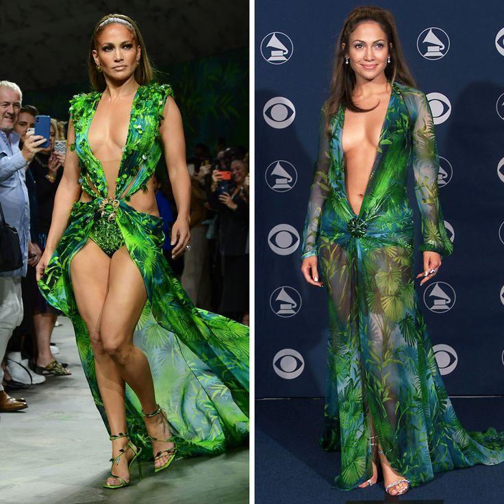 10 fotos que demuestran que Jennifer López no tiene edad Jennifer Lopez, Vestidos Versace, Sari, Fashion, Green Dress, Alex Rodriguez, Birthday Photos, Happy Birthday, Walkway