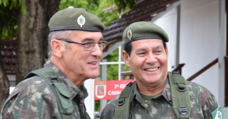 Integrantes das Forças Armadas, afirma que 95% das postagens sobre o assunto foram de apoio às declarações de Mourão.
