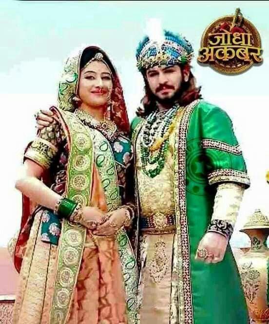 Jodha Akbar__green costume