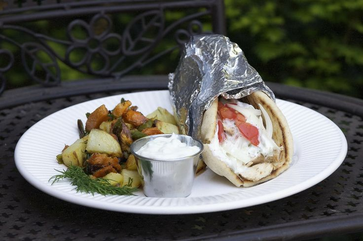 Chicken Gyros with Tzatziki Sauce recipe pictures