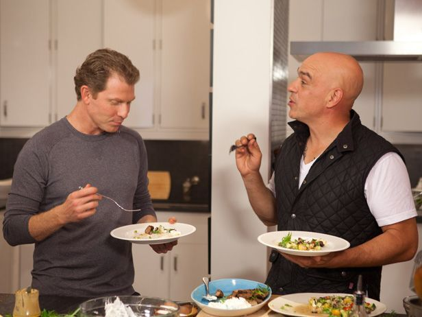 What It's Like to Be Friends with Bobby Flay, According to Michael Symon