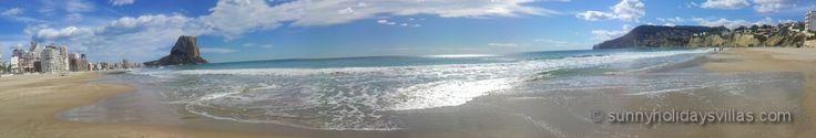 Playa Levante in February 2015