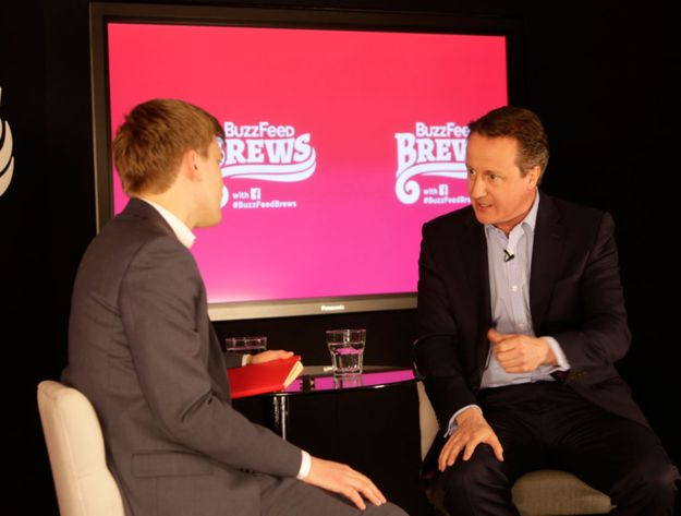 Watch Live – Prime Minister David Cameron Speaks To BuzzFeed - BuzzFeed News