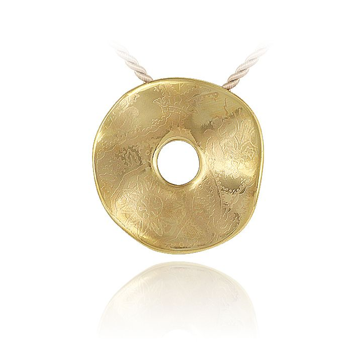 "PENDANT ""SIMPLE GOLD"" made by ZEMA"