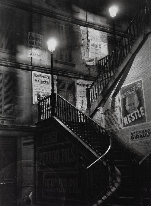 Paris (1930's) | Photographer: Brassai
