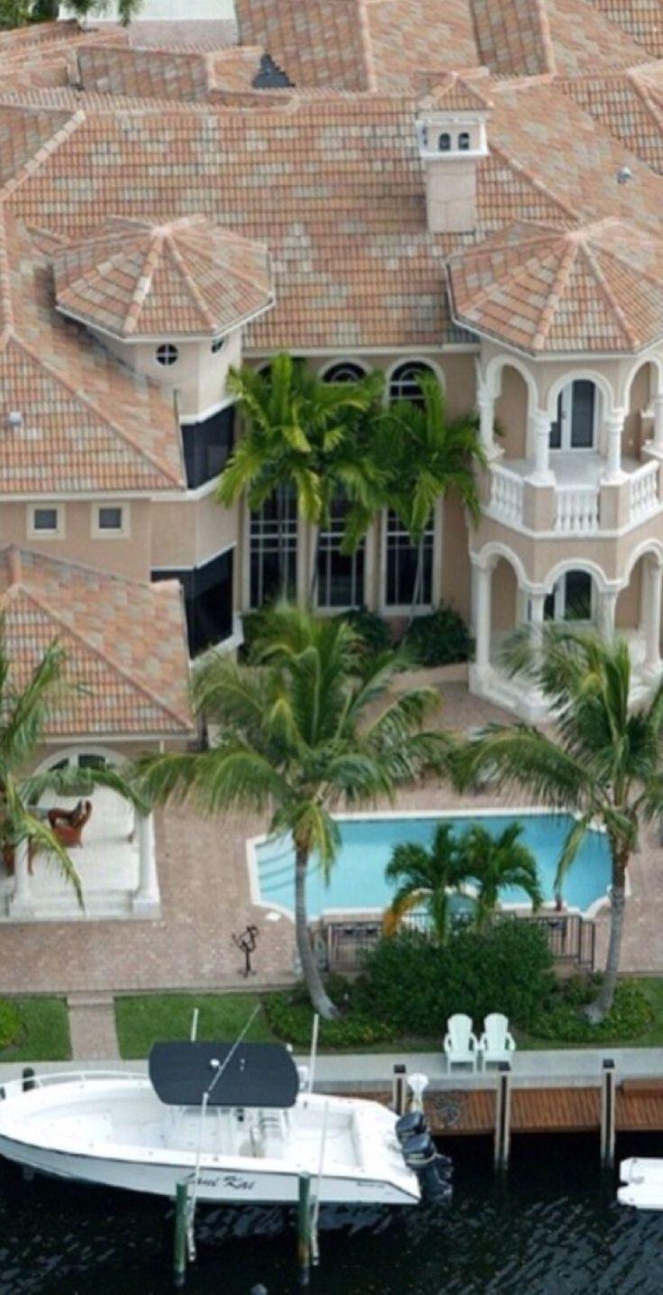 Amazing Mediterranean villa on the water... | tumblr b