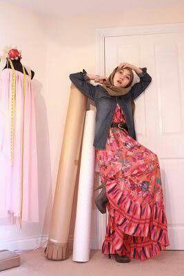 #hanatajima #hijabstyle #modestdress