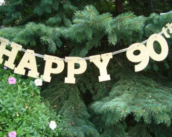 90th birthday decorations - Google Search