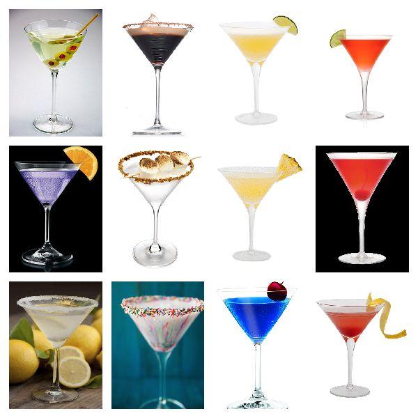 Many many martini recipies!!