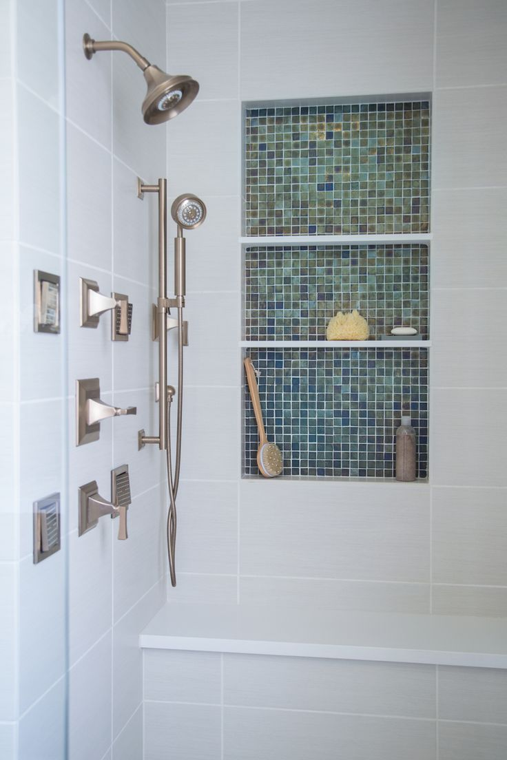 Best 25+ Shower seat ideas on Pinterest | Master shower, Subway tile  showers and Shower niche