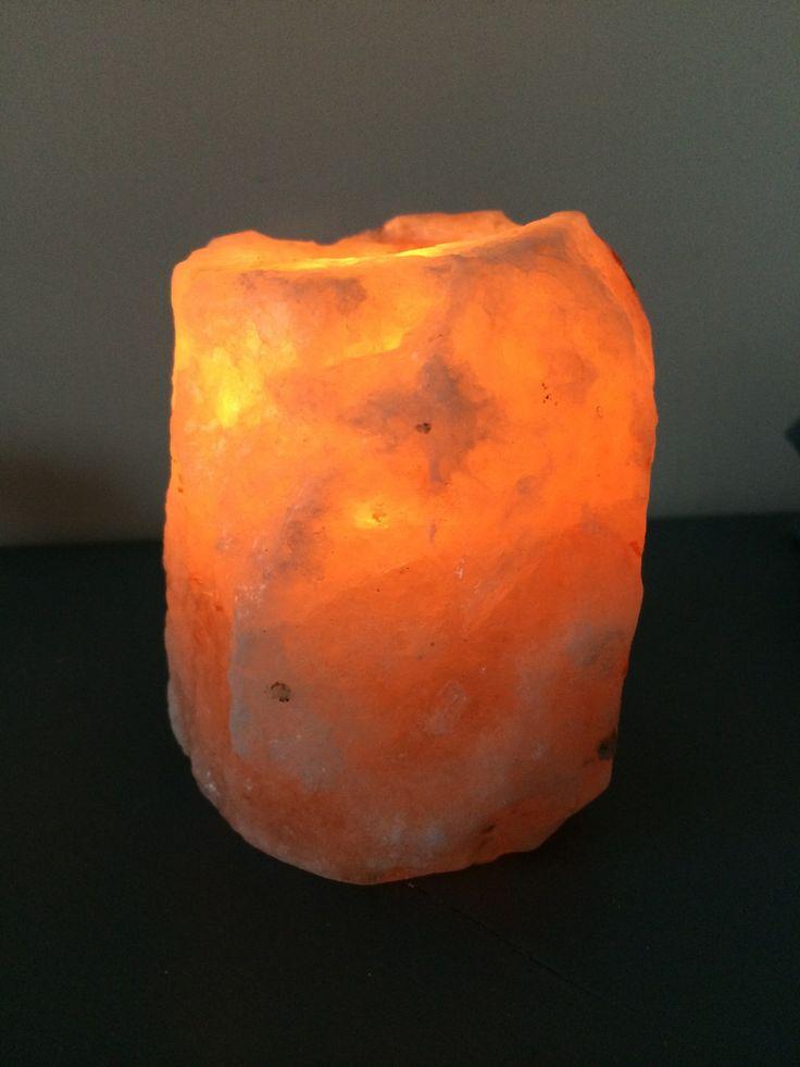 Saltkristall lykta Himalaya via Morfars lada. Click on the image to see more!