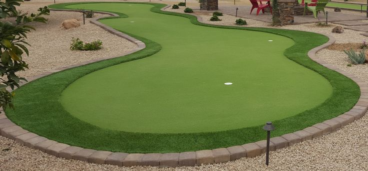 Backyard putting greens, Scottsdale - a real game changer ...