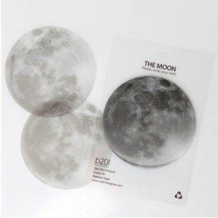 Full Moon Sticky NotesDesign Inspiration, Sticky Notes, Note Memo, Future Offices, Moon Sticky, Full Moon, Adhs Note, Offices Supplies, The Moon