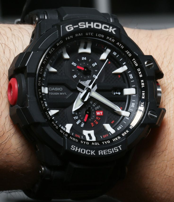 Casio G Shock Aviation GW A1000 Watch Review   casio