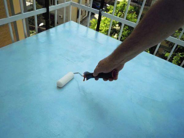 Finitura pavimento in resina con Floortex hydro