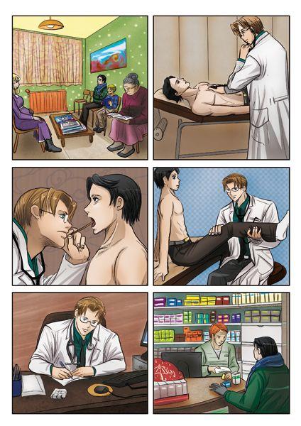 Encore d'autres extraits de diverses situations mises en images Chez l'agent immobilier Chez le doctor heu docteur