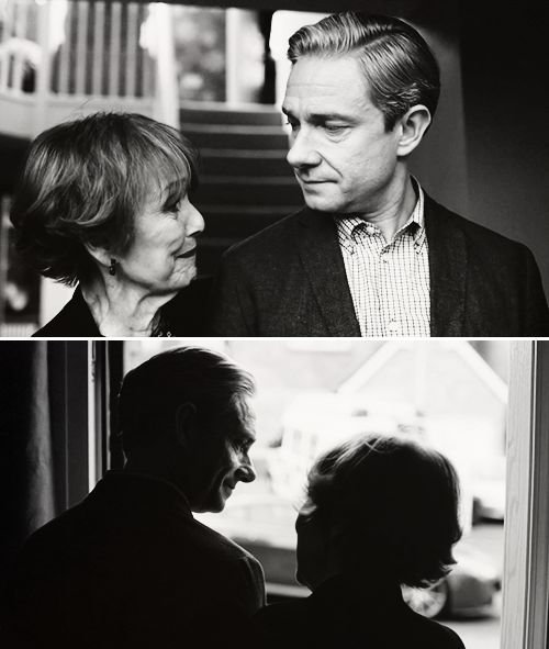 John and Mrs. Hudson - Aww!!