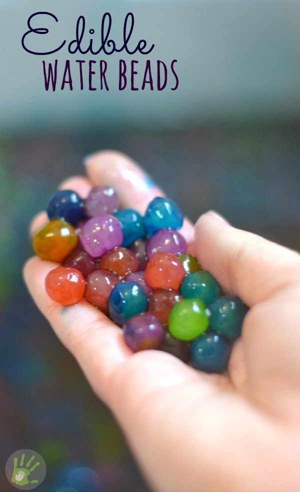 Make your own water beads! | 19 Kitchen Science Experiments You Can Eat