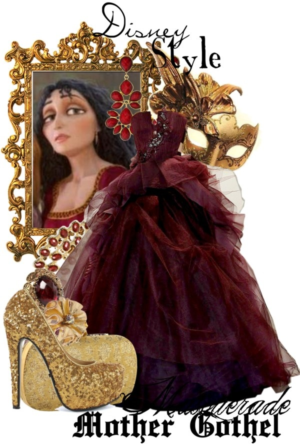 """""""Disney Style : Mother Gothel"""" by missm26 on Polyvore"""