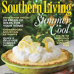 Southern Living Magazine August Issue 2010 Has great house plans, perfectly southern