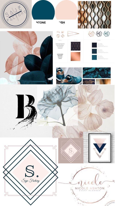 Website Branding Kit Photoshop Diy Blog Brand Brand Kit Diy Etsy In 2020 Logo Diy Website Branding Branding Kit