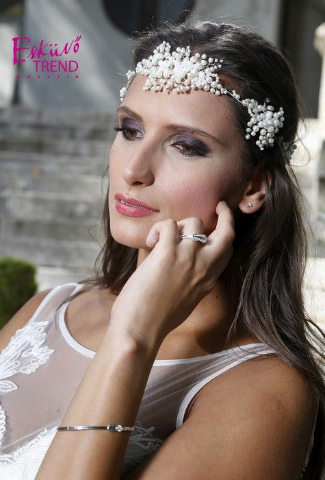 Bohemian headpieces to Bridal Mirage  #esküvő #menyasszony #wedding #bridal