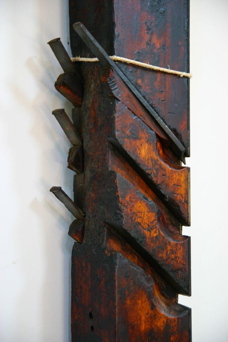 Profil-Hobel mit mehreren Messern und Vorschneidern - vielleicht für Fußbodendielen ? Shakerdorf Enfield // Seeland