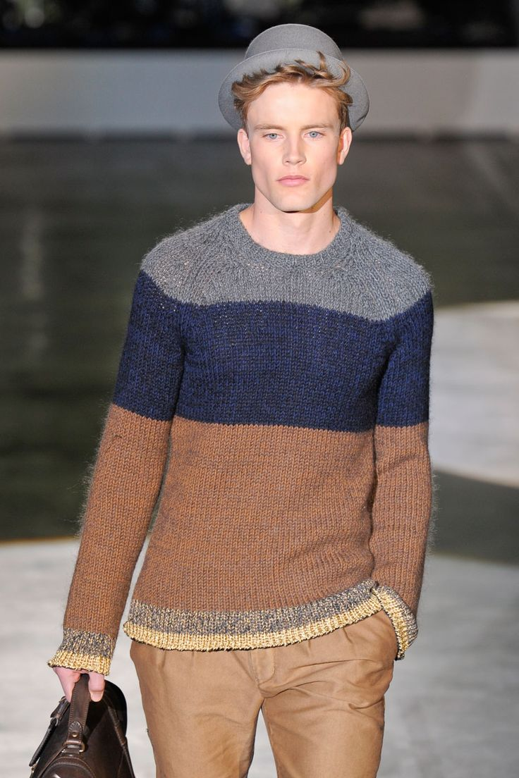 knit form Iceberg for men