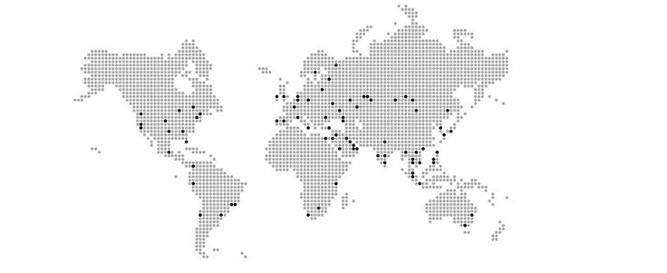 CDN PoP's all over the world Our Multi-CDN PoP's are located on all continents except Antarctica.