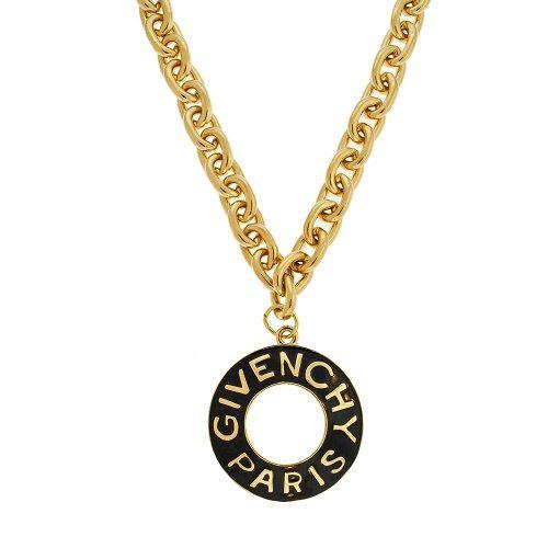 Givenchy Necklace  Givenchy Paris Huge Vintage by MODELUNA76