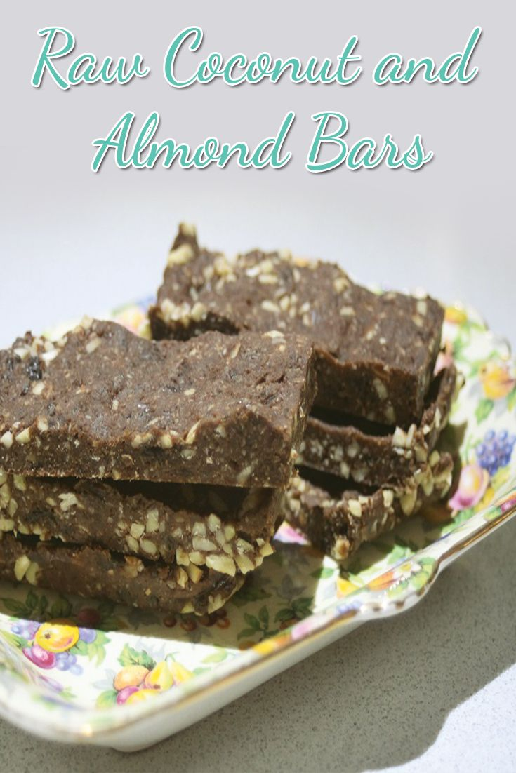 Raw Coconut and Almond Bars