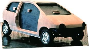 OG | 1992 Renault Twingo - Project W60 / X06 | Full-size clay model