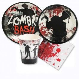 zombie mini party packs for 8 guests - Zombie Party Supplies