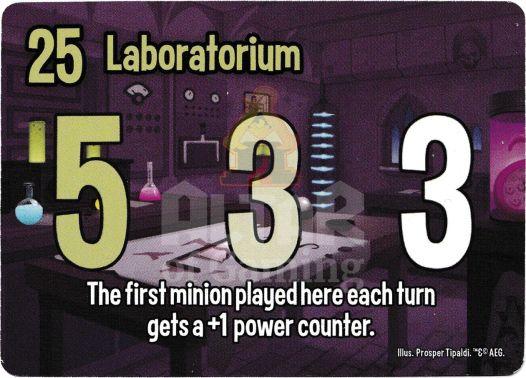 Laboratorium - Mad Scientists - Smash Up Card | Altar of Gaming