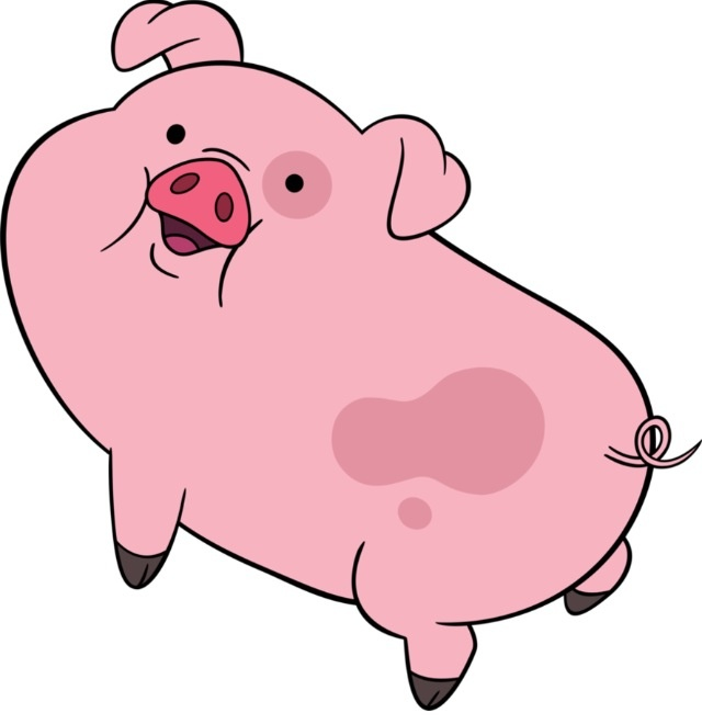 Waddles from Gravity Falls Disney Channel