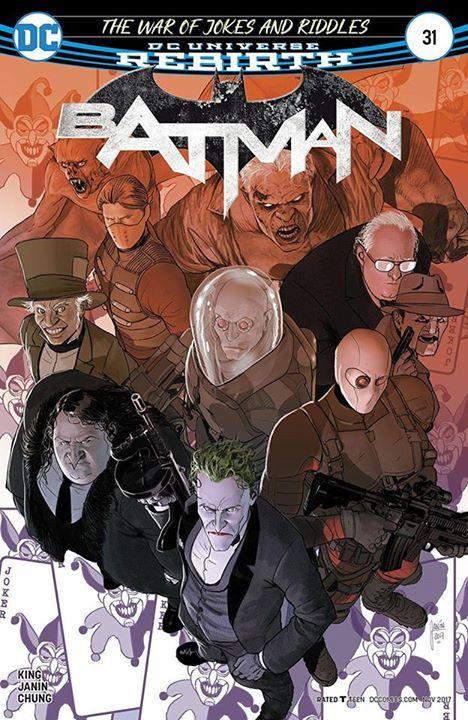 Of all the people in Gotham City, Kite Man might have just changed the tide of this whole war--hell yeah. What's your review of BATMAN #31? #Batman #dccomics #superman #manofsteel #dcuniverse #dc #marvel #superhero #greenarrow #arrow #justiceleague #deadpool #spiderman #theavengers #darkknight #joker #arkham #gotham #guardiansofthegalaxy #xmen #fantasticfour #wonderwoman #catwoman #suicidesquad #ironman #comics #hulk #captainamerica #antman #harleyquinn